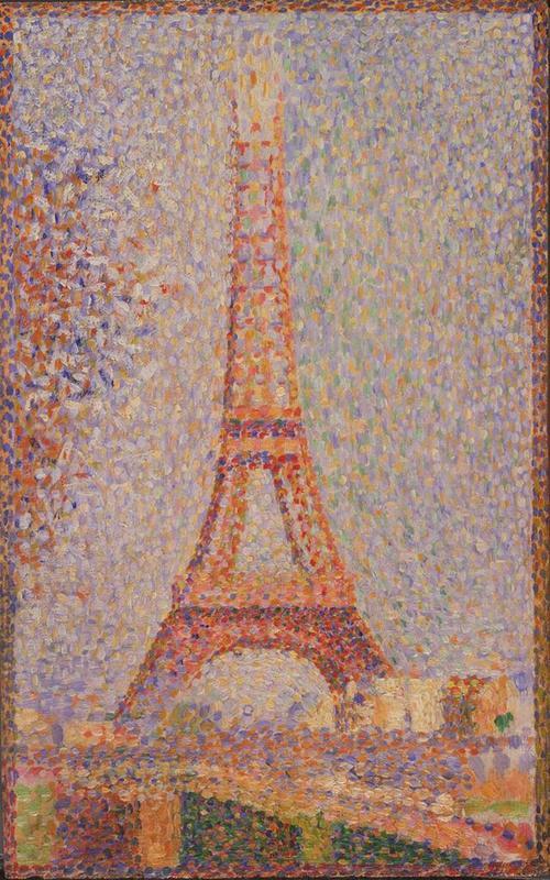 Eiffel Tower (Seurat)