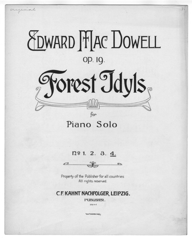 Driadentanz : op. 19, no. 4