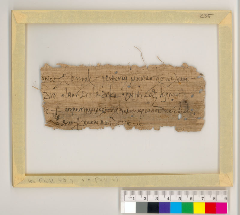 Receipt (?) for Wine, Fowl, and Meat (recto); Copying Exercise (verso)