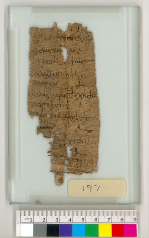 Memorandum of Clothing Pawned