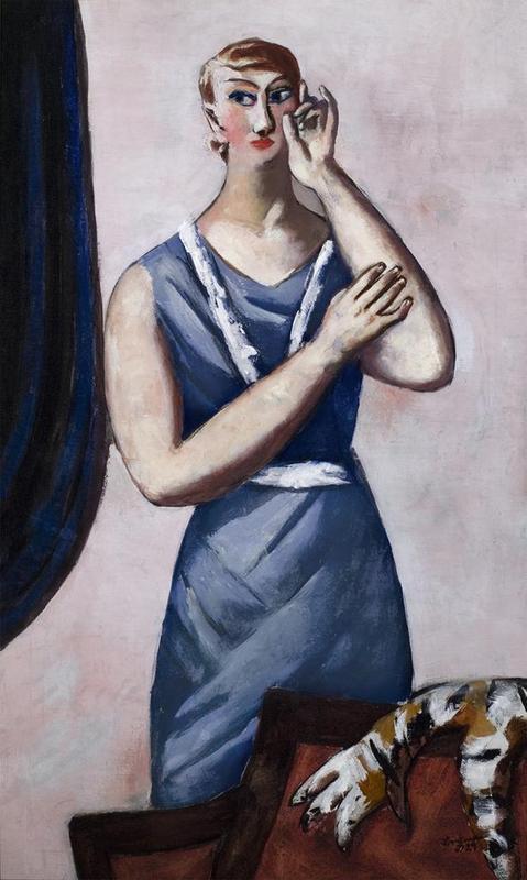 Portrait of Valentine Tessier