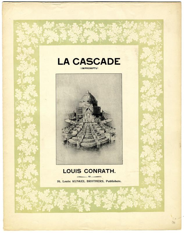 La cascade : impromptu / Louis Conrath.