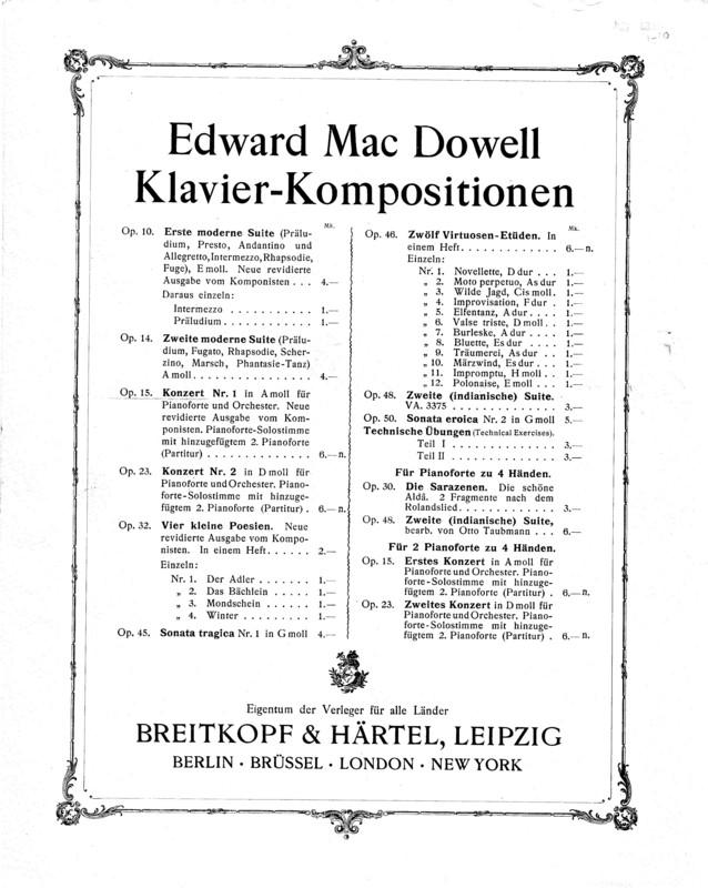 Erstes Konzert : A Moll : für das Pianoforte mit Begleitung des Orchesters : op. 15