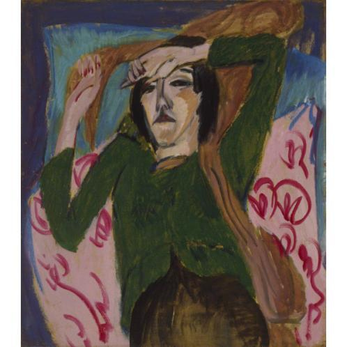 Woman With a Green Blouse