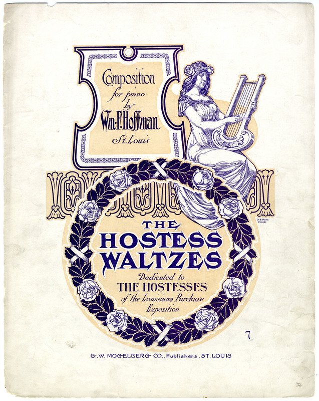 The hostess waltzes / Wm. F. Hoffman.