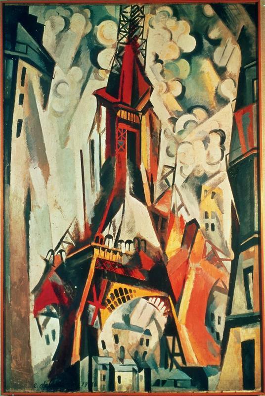 Eiffel Tower (Delaunay 1910)
