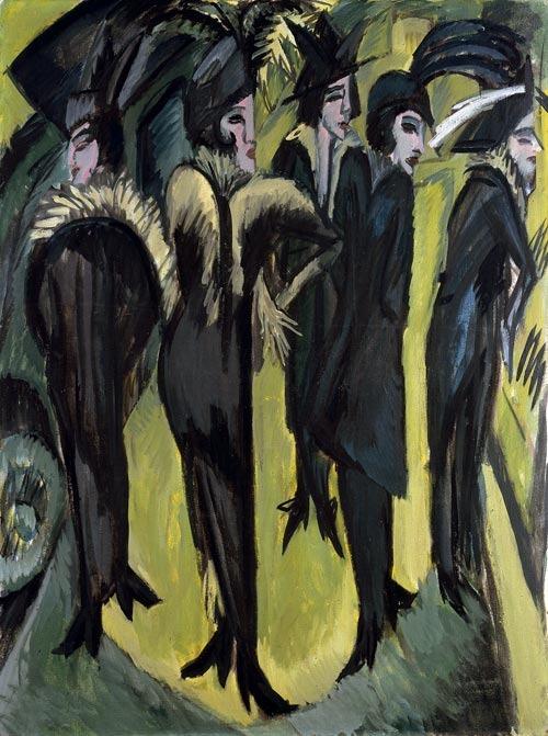 Five Women on the Street