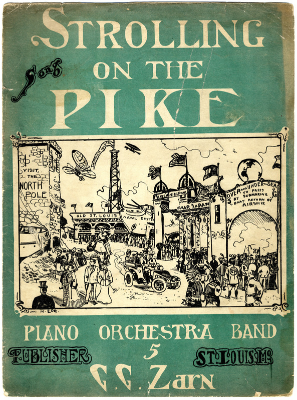 Strolling on the Pike : song / [words & music by Geo. G. Zarn].