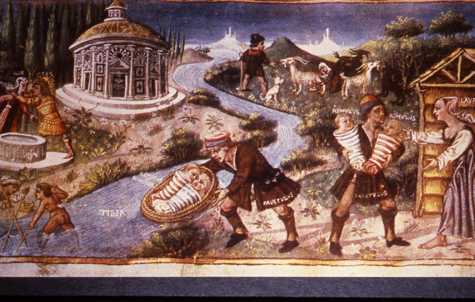 story of romulus and remus mars and rhea silvia faustulus and acca