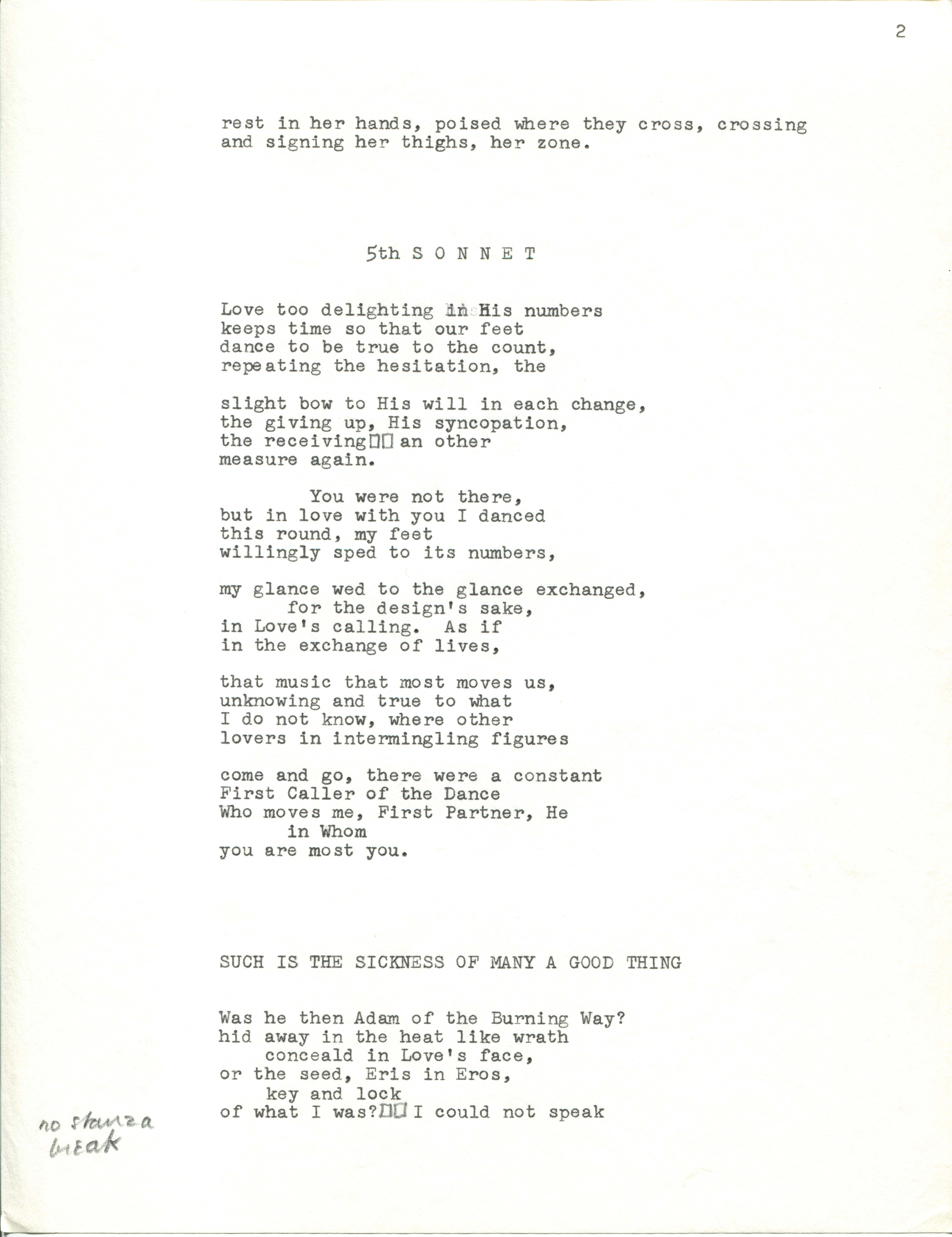 Bending the Bow by Robert Duncan · WUSTL Digital Gateway