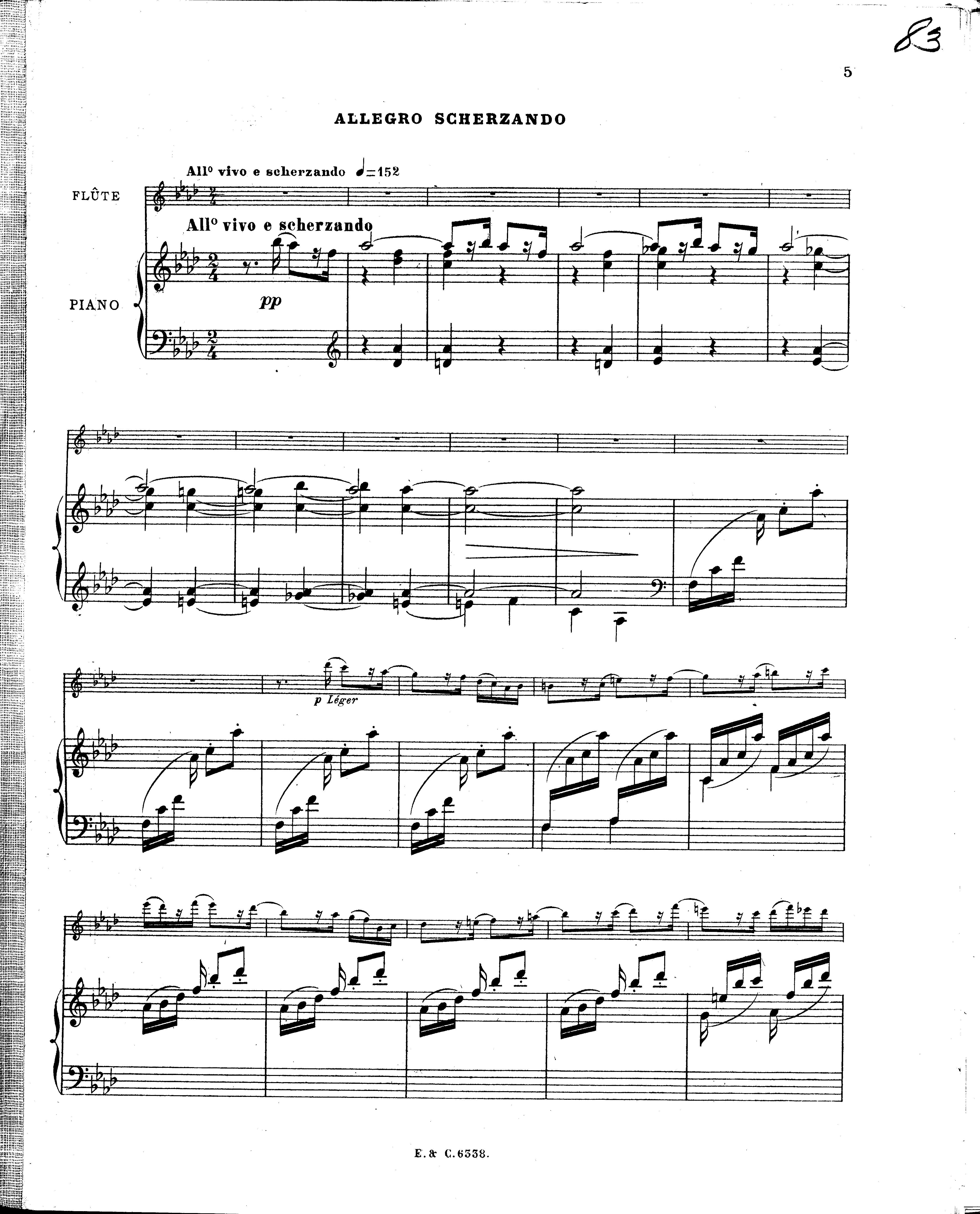 nocturne et allegro scherzando philippe gaubert pdf