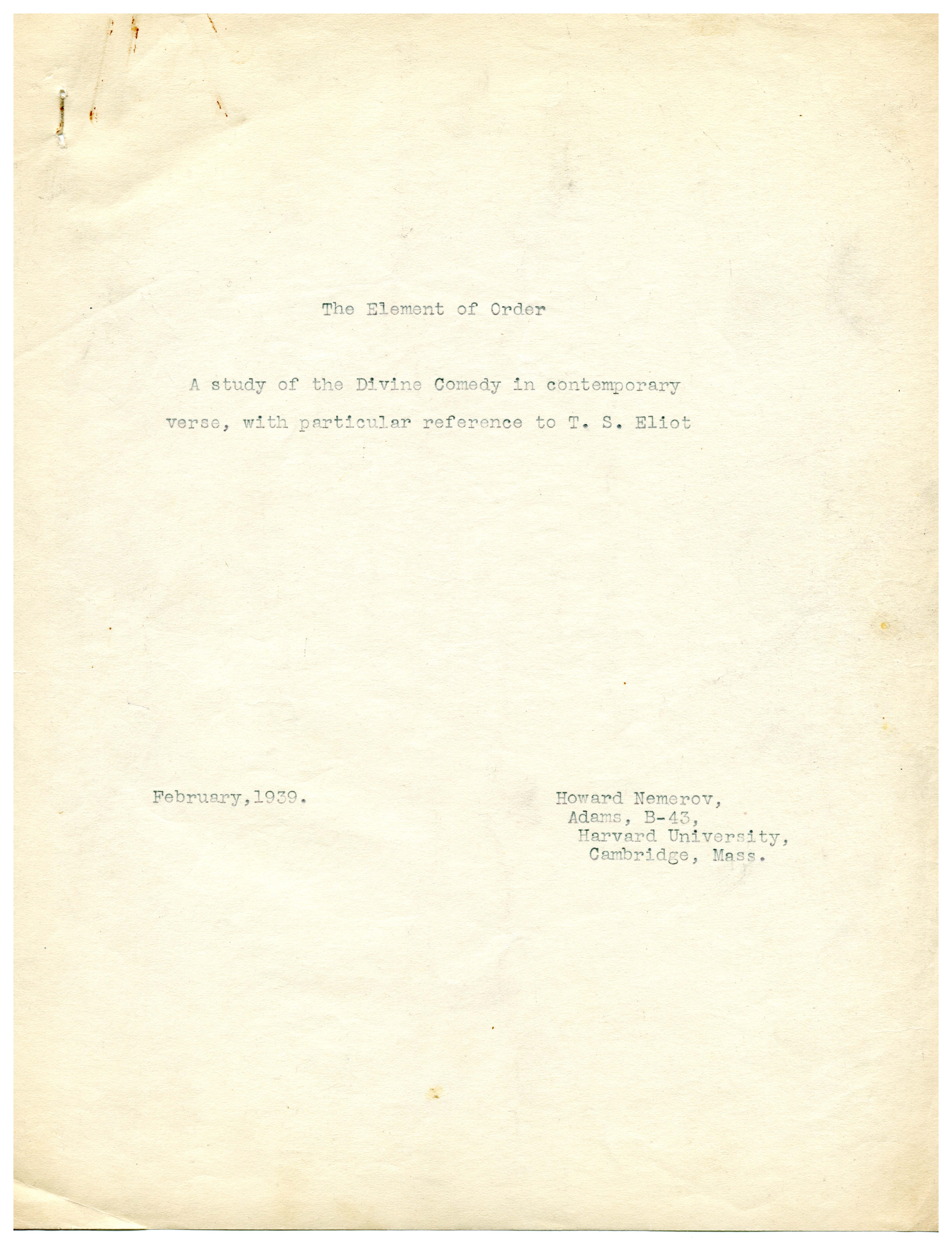 Typescript draft of