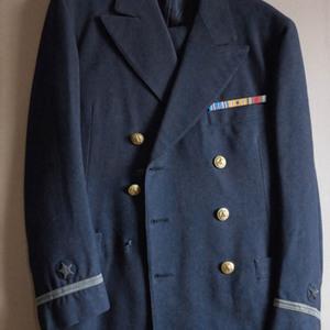 William H. Gass's World War II United States Navy uniform