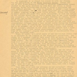 Introduction to the AMS Press reprint of <em>Black Moutain Review</em> by Robert Creeley