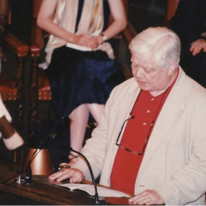 William H. Gass speaking at the 1996 PEN/Faulkner Award Ceremony