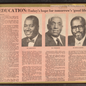 """Education: Today's hope for tomorrow's 'good life'"""