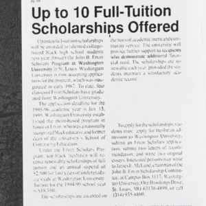 """Up to 10 Full-Tuition Scholarships Offered"""