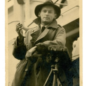 William Gaddis sailing on the MS Sobieski  for Gibraltar, December 6, 1948