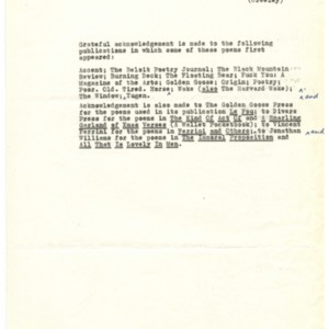 Preface to <em>The Charm</em> by Robert Creeley