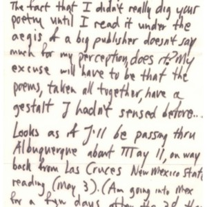 Autograph letter, signed from Lawrence Ferlinghetti to Robert Creeley, April 16, 1962