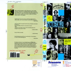 Literary St. Louis book cover mock-up