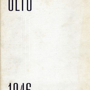 <em>Olio</em>, Amherst College's yearbook featuring James Merrill