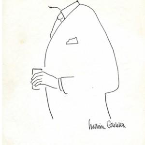 William Gaddis's Self-Portrait