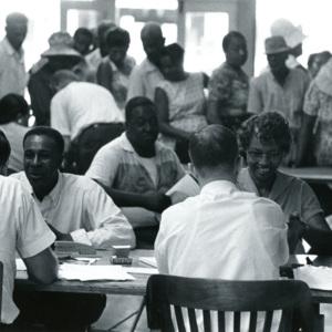 Voter registration in Mississippi
