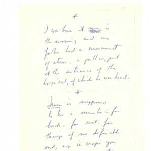 """Seven"" from <em>Pieces</em> by Robert Creeley"