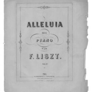 Alleluia : pour piano