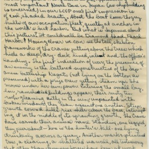 Autograph letter signed from William H. Gass to his parents, Mr. and Mrs. Gass September 11, 1945<br /> <br />