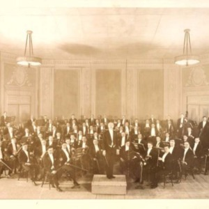 St. Louis Symphony after 1922 at Odeon Building when Rudolph Ganz was Director.