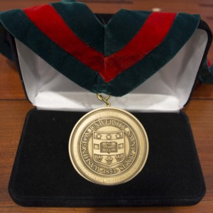 Washington University David May Distinguished University Professor in the Humanities medal, 1979 <br />