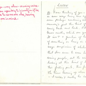 <em>Listen</em> by Robert Creeley