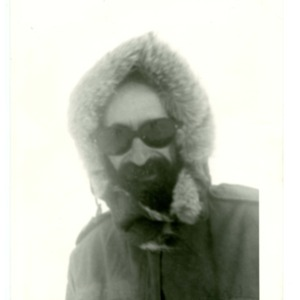 Donald Finkel in Antarctica, January 1970