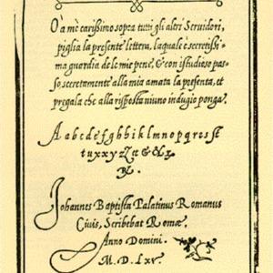 Compendio del Gran Volvme de l'Arte del Bene et Leggiandramente Scrivere Tvtte le Sorti di Lettere et Caratteri