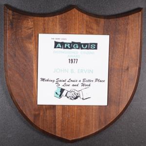 The Saint Louis Argus Distinguished Citizens Award