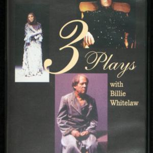 <span><em>Samuel Beckett </em>Videocassette with <em>Eh Joe ; Footfalls ; Rockaby</em></span>