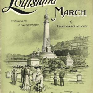 Louisiana march / by Frank Van der Stücken