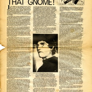 """Alex Trocchi Watch That Gnome!"" by Alexander Trocchi from International Times, Number 58, June 13-25, 1969"