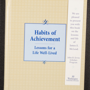 Habits of Achievement: Lessons for a Life Well-Lived