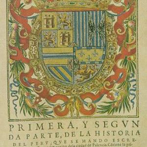Coat of Arms From La Historia del Peru