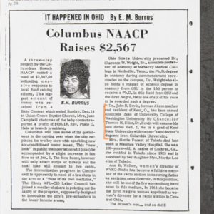 """It Happened In Ohio: Columbus NAACP Raises $2,567"""