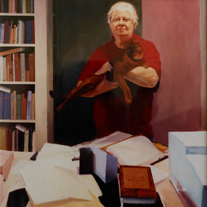 William H. Gass by Marion Miller, 1995