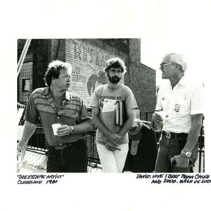 Doug Claybourne, Caleb Deschanel, and David Wagoner