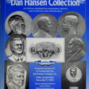 Dan Hansen Collection of Official Presidential Inaugural Medals