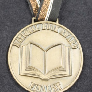 National Book Award Finalist Medallion for <em>A Frolic of His Own</em> by William Gaddis