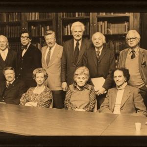 William Jay Smith, James Dickey, Josephine Jacobsen, Stanley Kunitz, Elizabeth Bishop, Howard Nemerov, and others, May 16, 1979