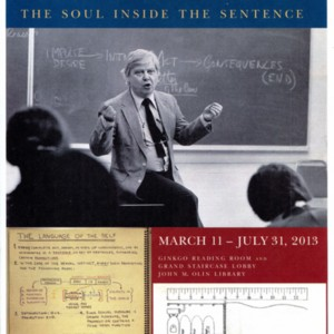 """William H. Gass: The Soul Inside the Sentence"""