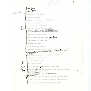 <em>Eh Joe</em> by Samuel Beckett
